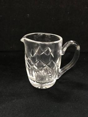 Vintage Waterford  Crystal Flower Vase  Pineapple Cut 7