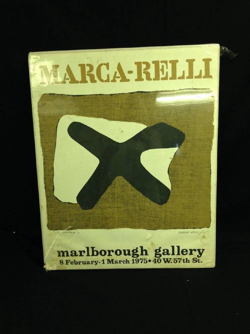 Conrad Marca Relli Composition Del Cruz 1975 Hand