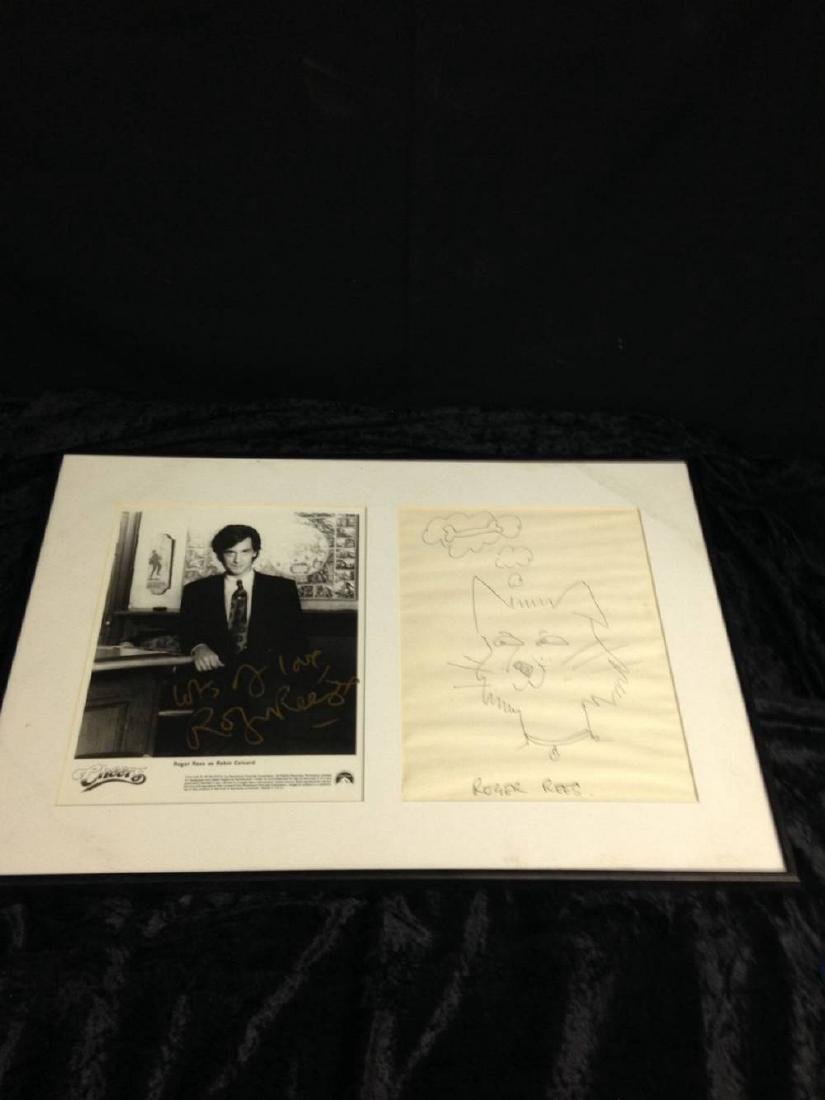 Roger Rees As Robin Colcord From Cheers Signed Photo