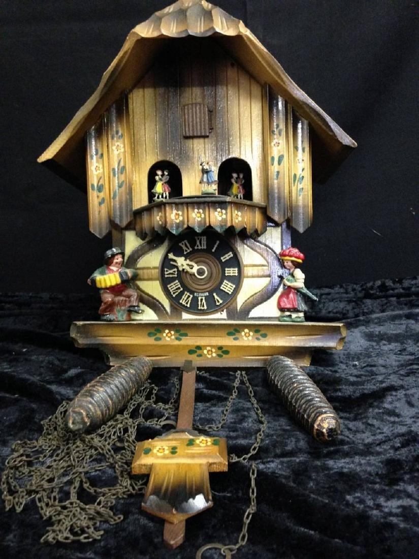 Vintage Kaiserwalzer  Cuckoo Clock Approx 12 Inches