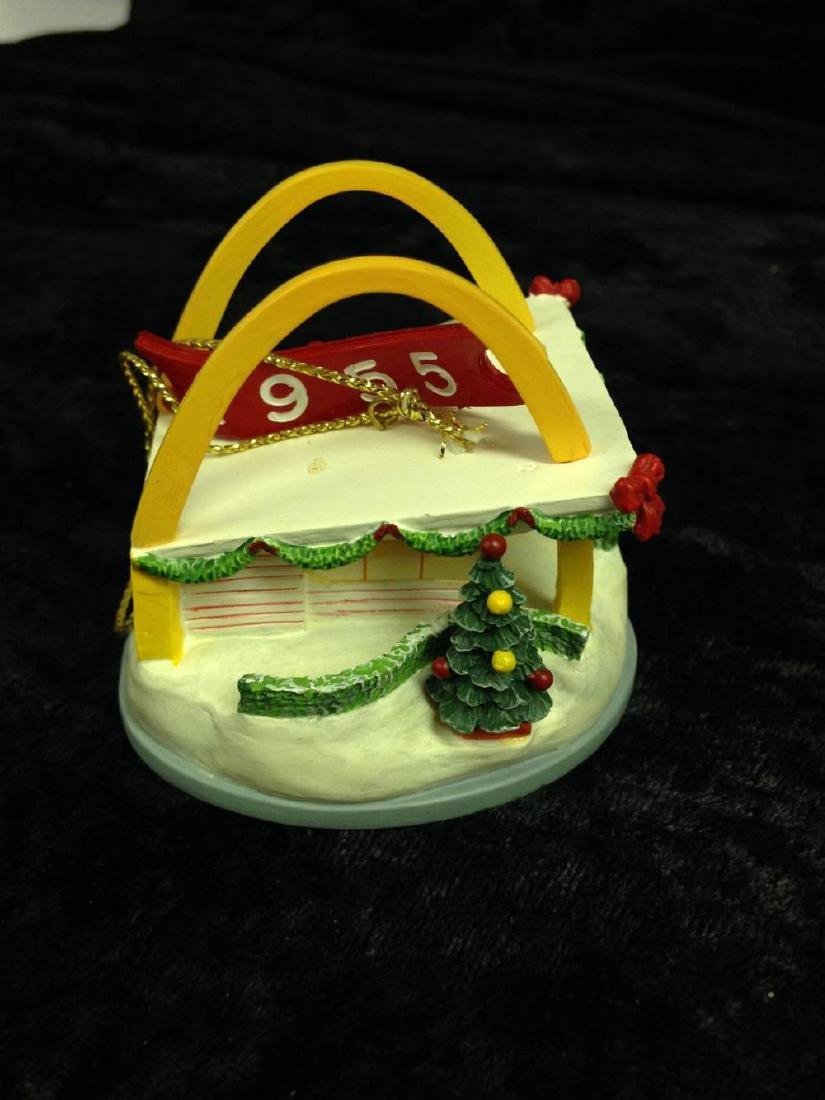 Lot Of 6 McDonalds Christmas Ornaments Speedee All The - 4