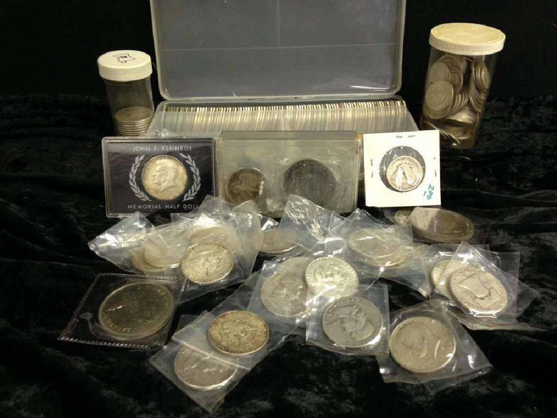 Lot Of 40 Percent And 90 Percent US Coins