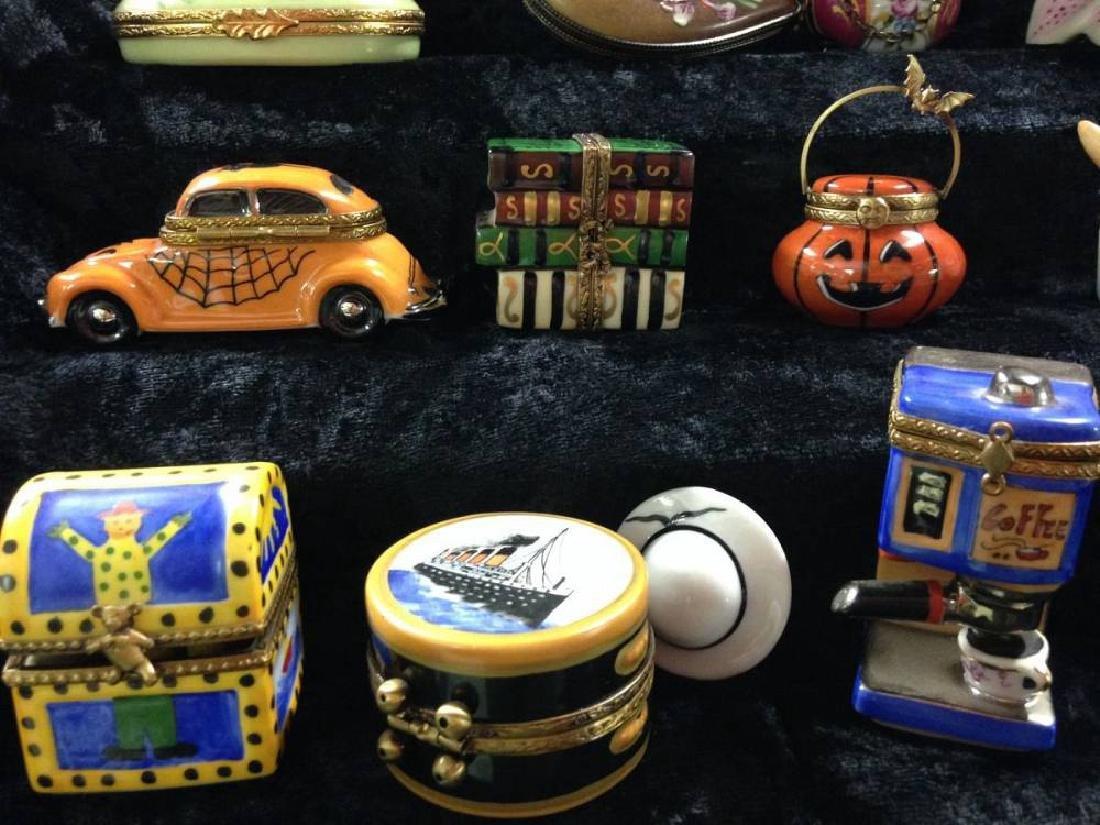 Lot Of 20 Limoges Trinket Boxes - 3
