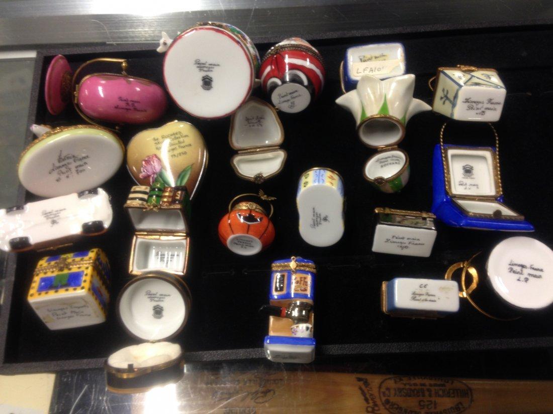 Lot Of 20 Limoges Trinket Boxes - 5