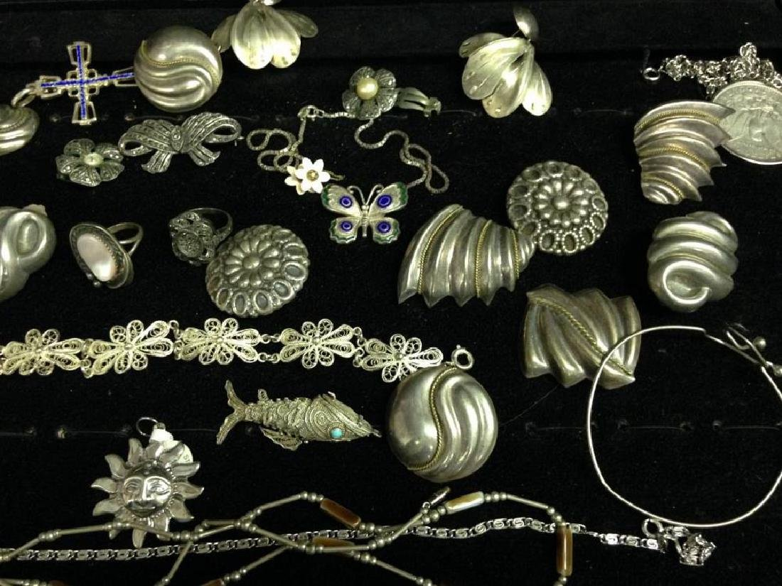 Lot Of Assorted Sterling Silver Jewelry - 2
