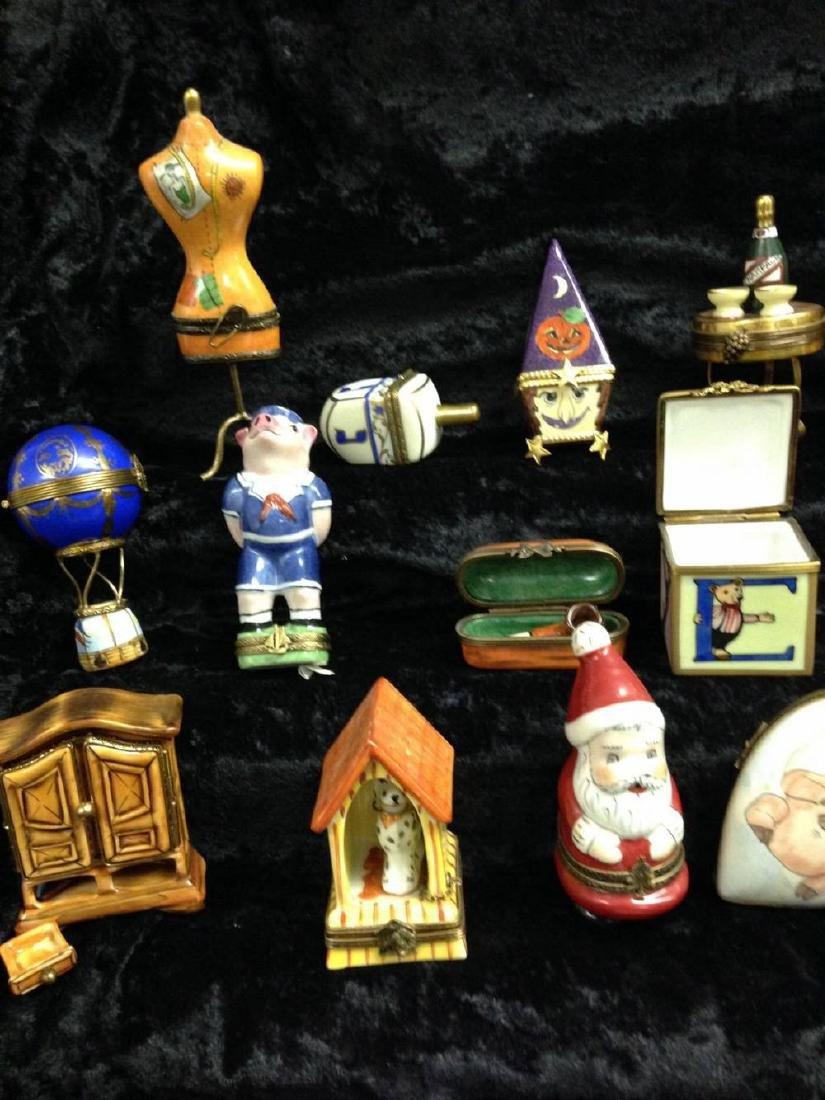 Lot Of 20 Limoges Trinket Boxes - 2