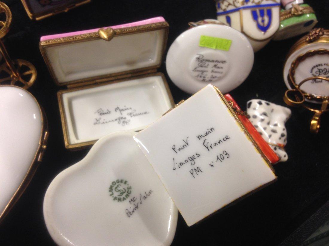 Lot Of 20 Limoges Trinket Boxes - 7