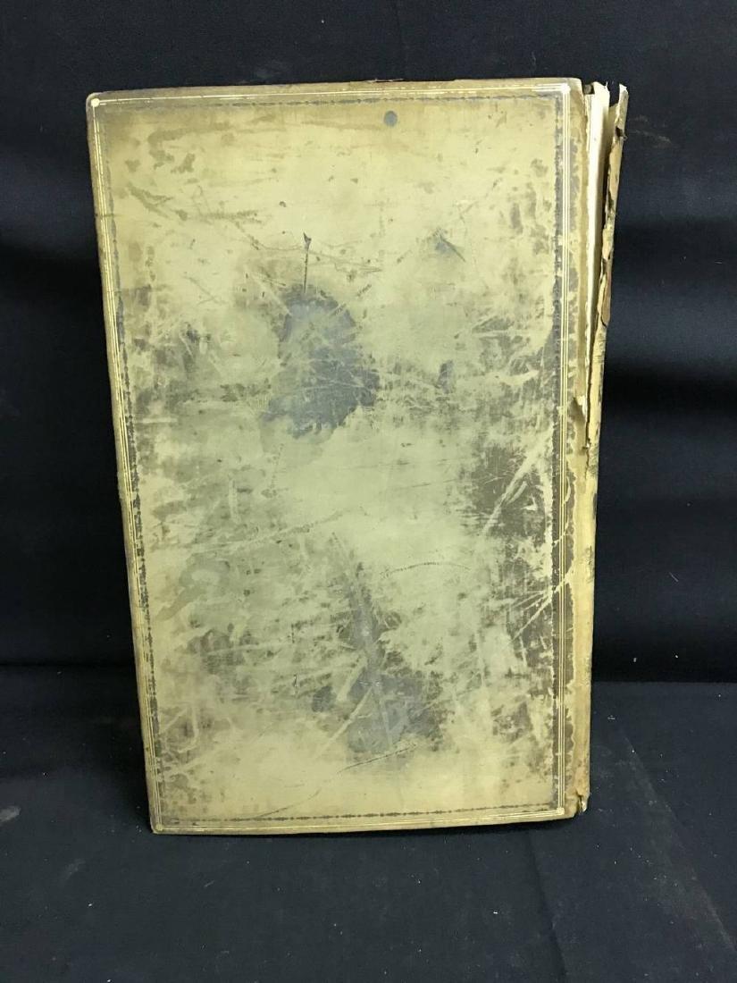 Antique Bible Circa 1701 Approx 17 x 11