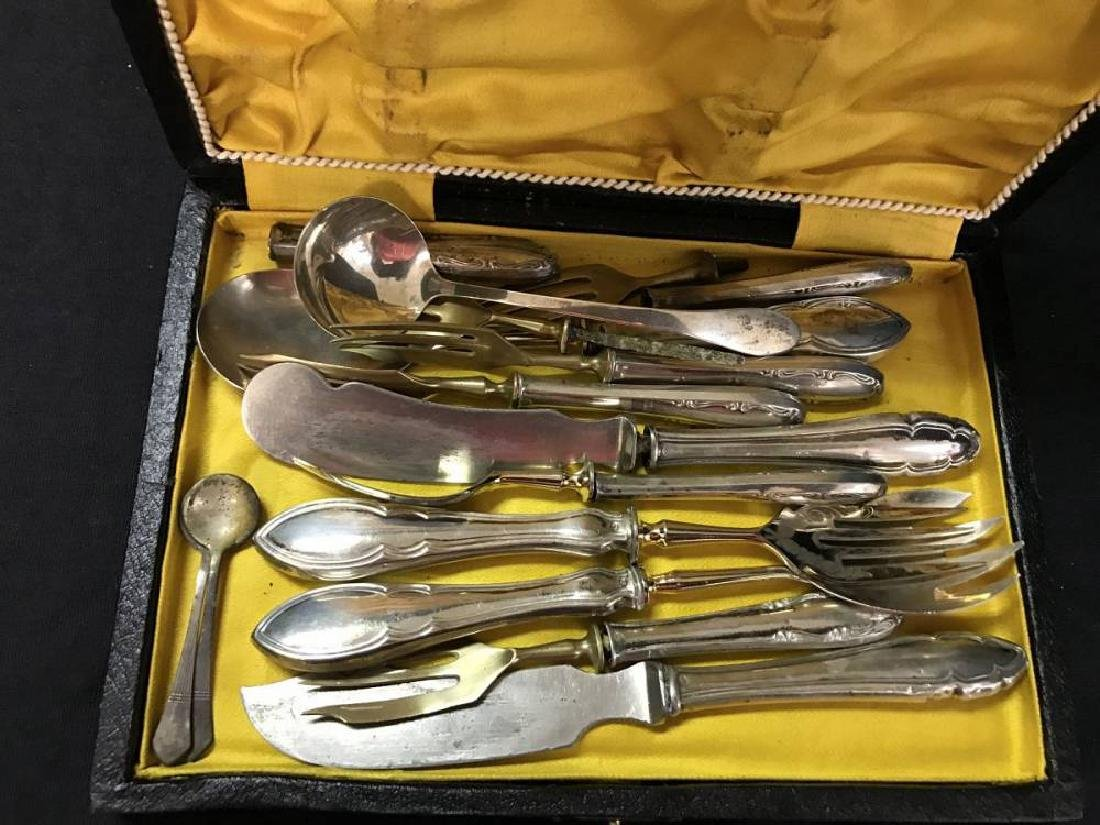Large Lot Of  Assorted 800 Silver Flatware Pieces - 2