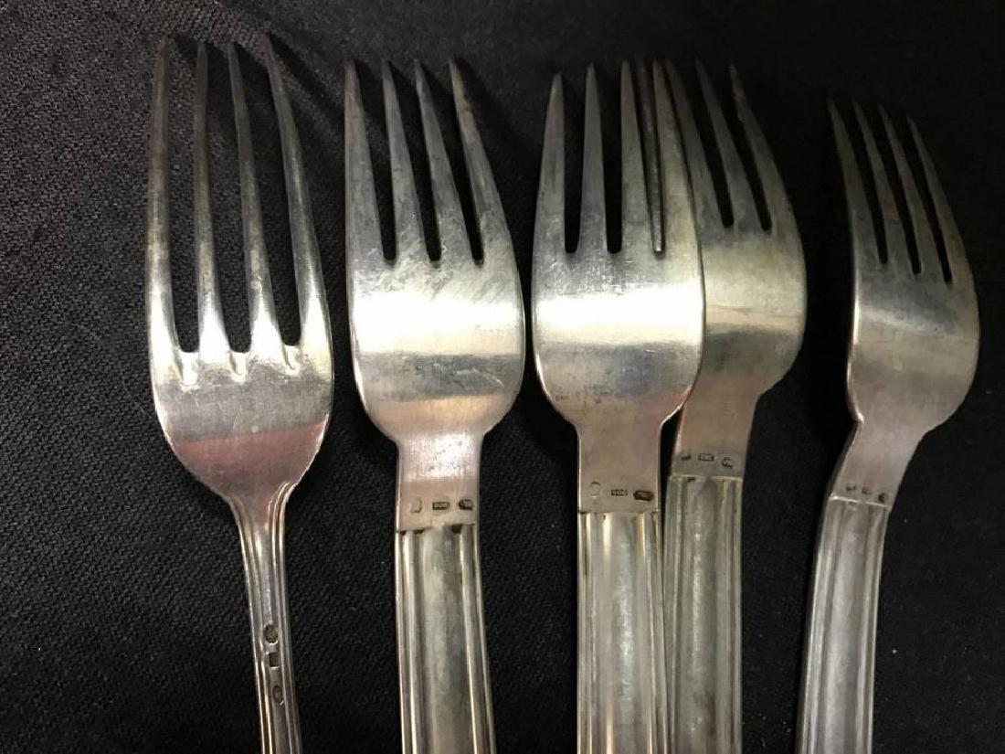 Lot Of German 800 Silver Flatware - 4