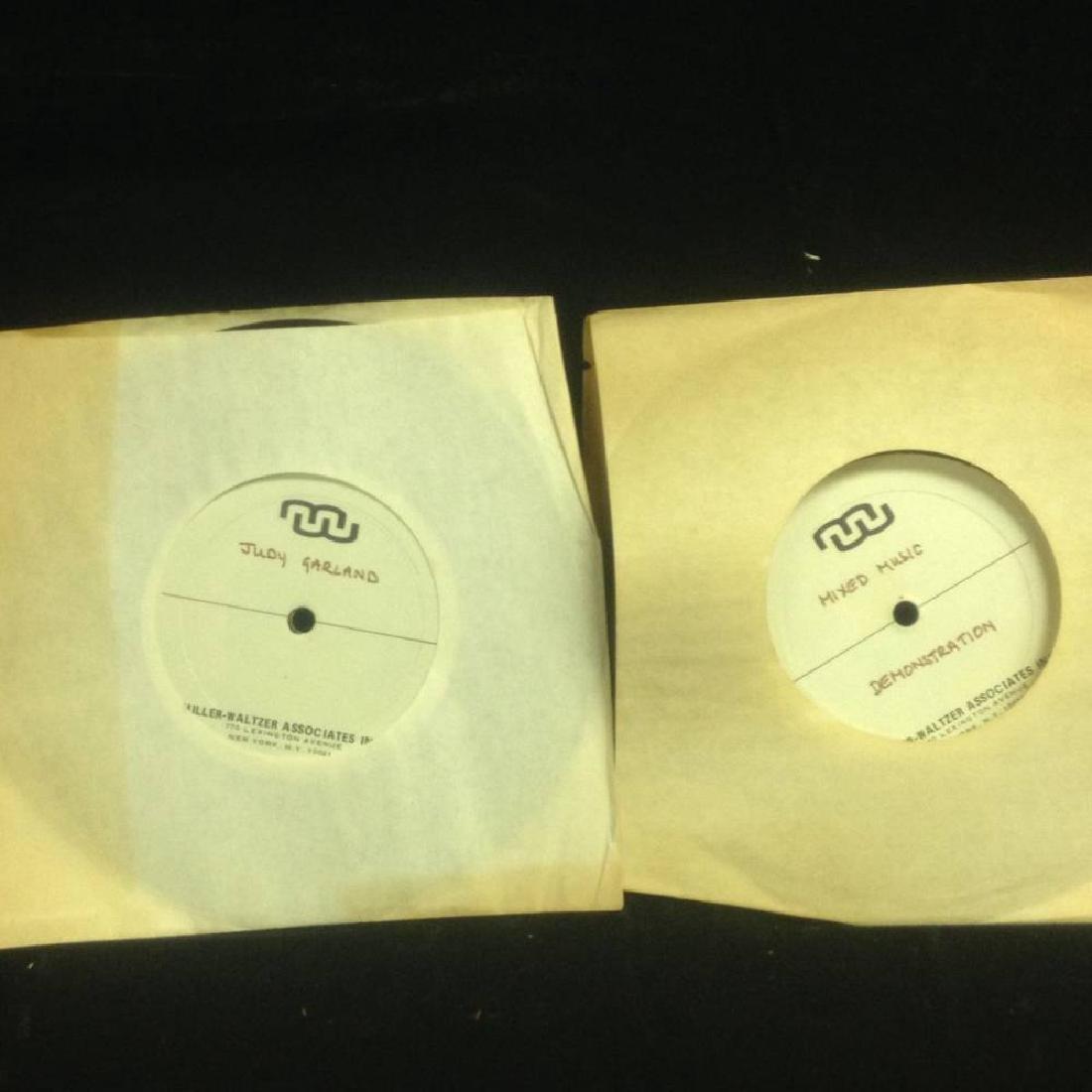 Pair Of Demo Records Judy Garland And Mixed Music