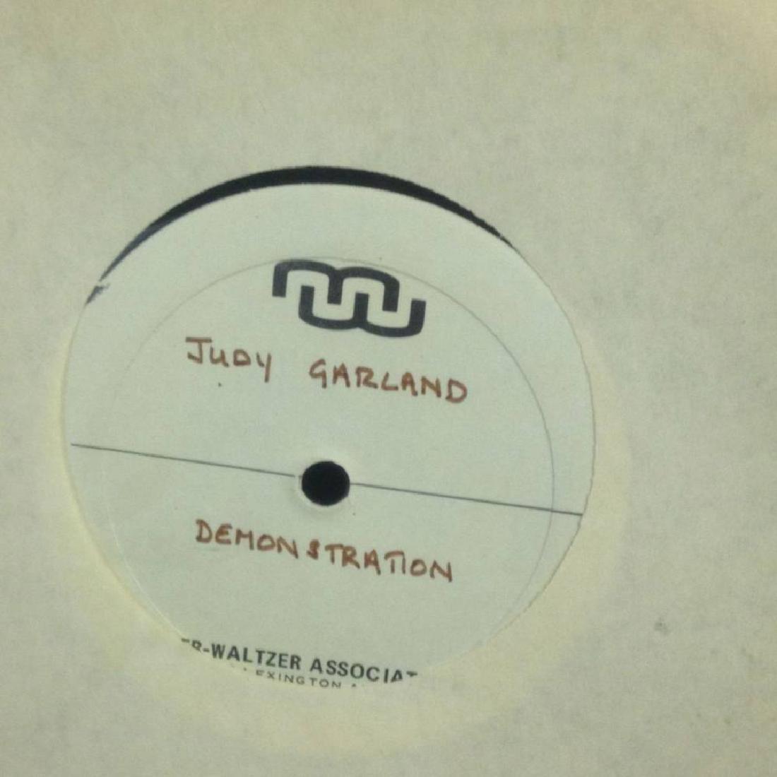Pair Of Demo Records Judy Garland And Mixed Music - 3