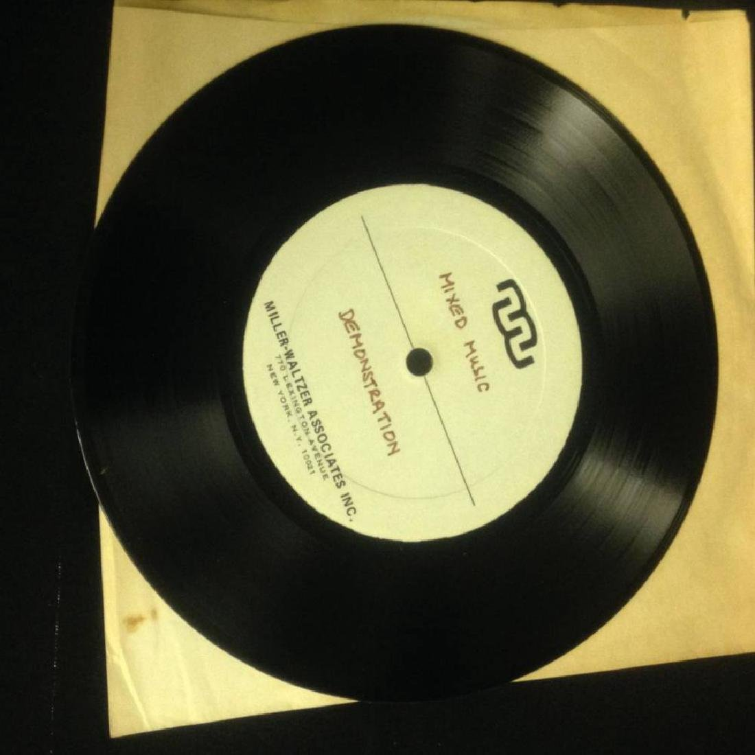 Pair Of Demo Records Judy Garland And Mixed Music - 4