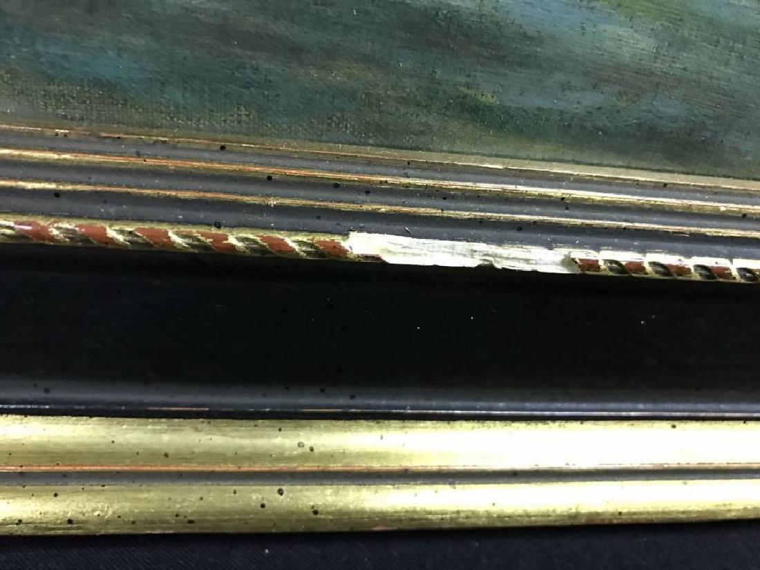 H L A Culmer Oil On Canvas Approx 23.75x 37.75 - 4