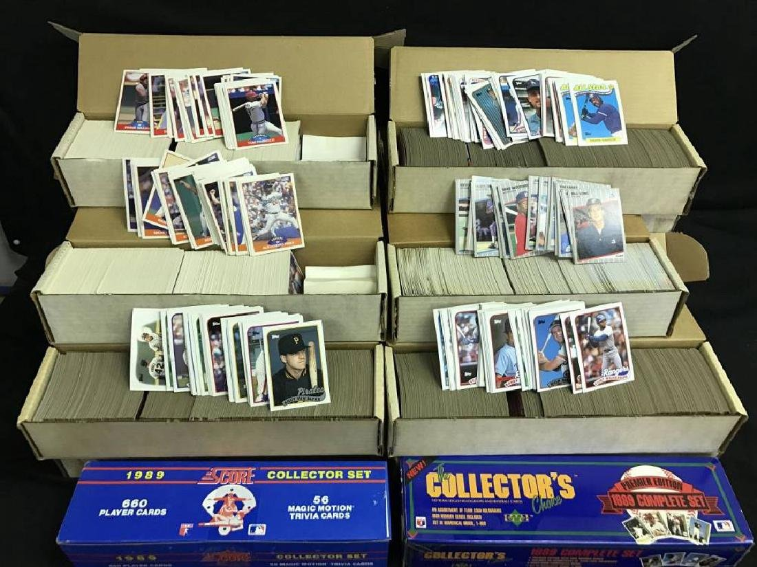 One Estate Lot Of 1989 Fleer Donruss And Topps Baseball