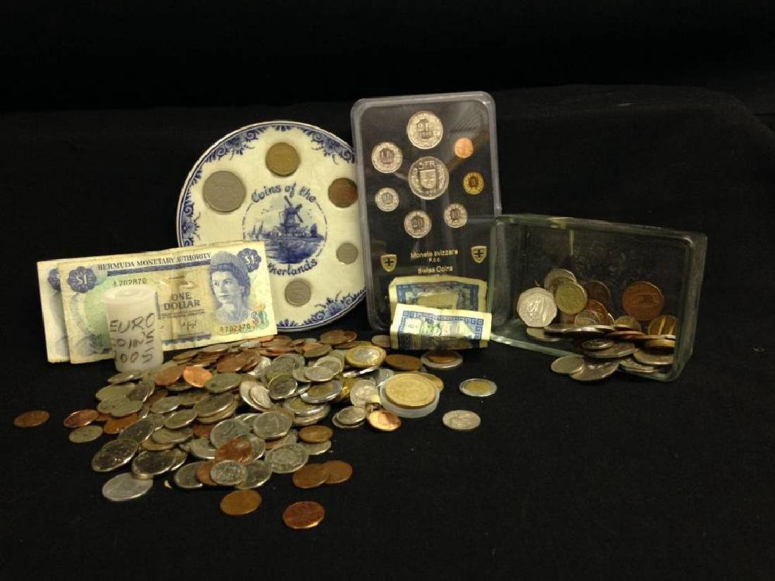 Lot Of Assorted Foriegn Currency