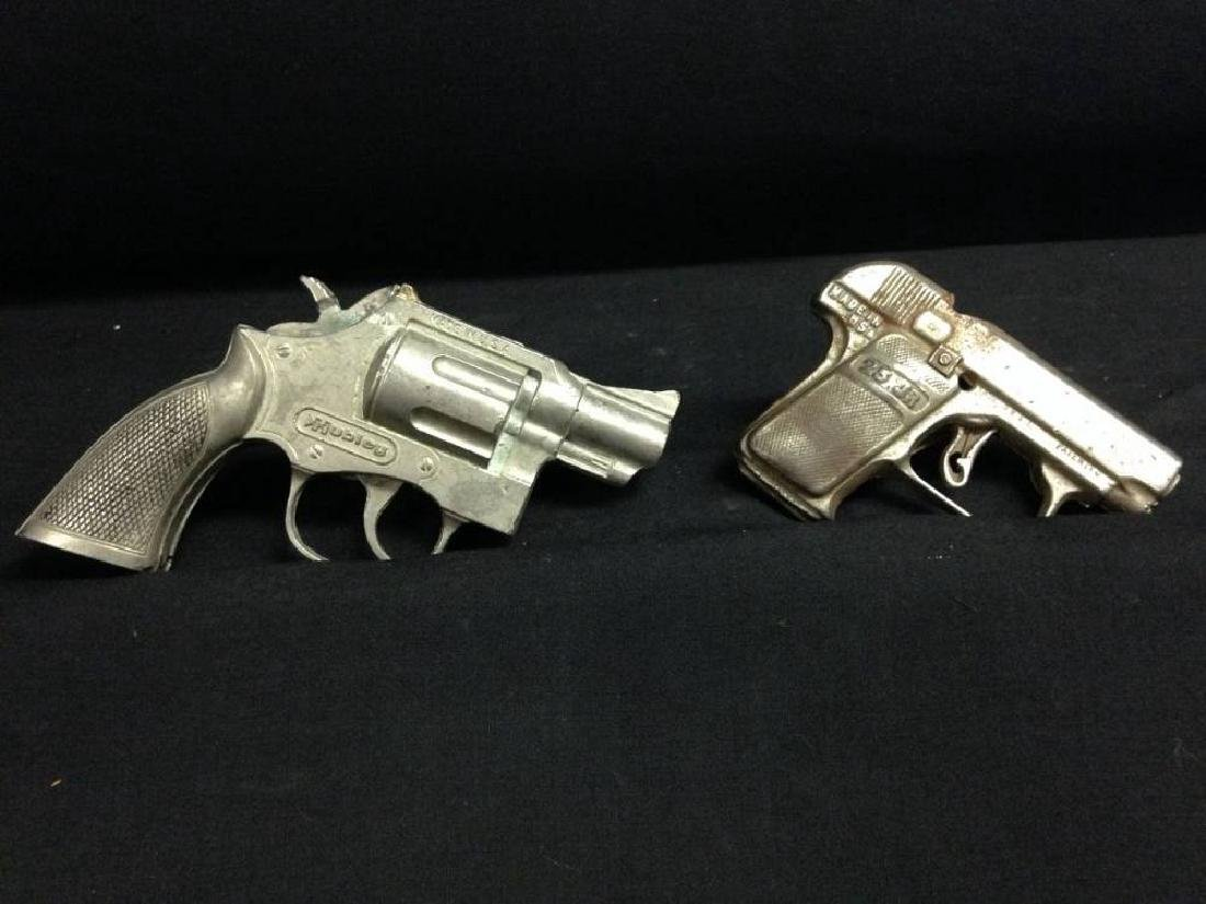 Pair Of Vintage Cap Guns Approx 4x3 And 5.5x3.5