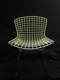 Mid Century MCM Wire Chair 28.5 Inches Tall
