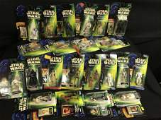 Lot Of Star Wars The Power Of The Force Figures