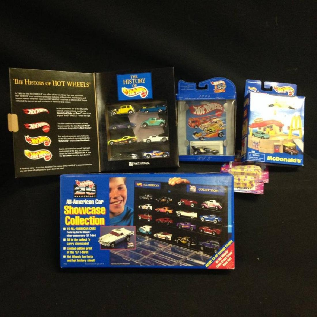 Lot Of Collector Hot Wheel Sets