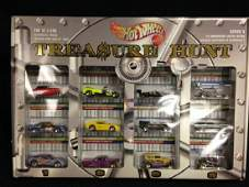 Treasure Hunt  Collectable Hot Wheels Set