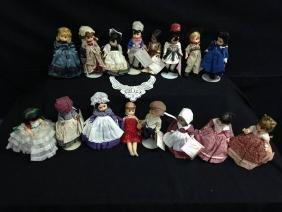 Lot Of 16 Madame Alexander Dolls No Boxes
