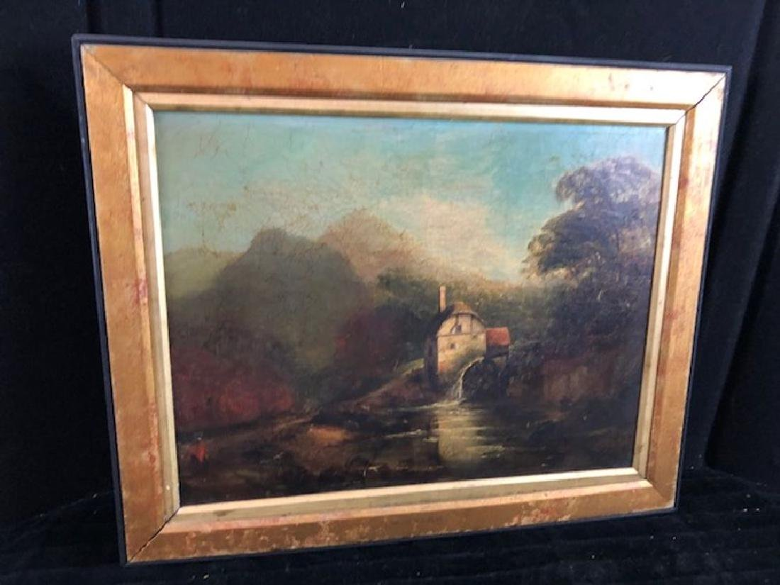 Continental School Oil Painting - unsigned