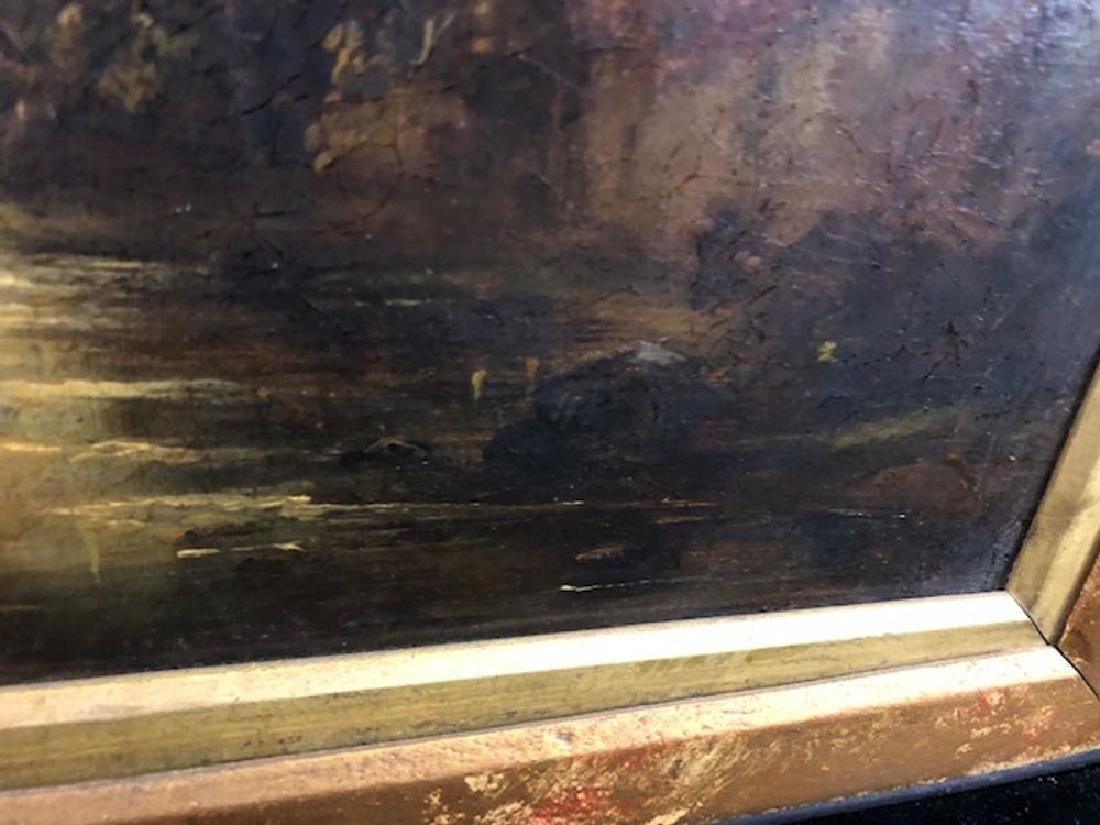 Continental School Oil Painting - unsigned - 2