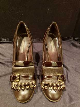 5d19309aff50 Pair of Louis Vuitton Heels Size 371 2 PICK UP NEW