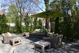 Lot of Outdoor Furniture including Restoration Hardware