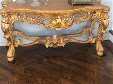 Louis XIV Style Table 22x60x32 PICK UP IN SANDS POINT