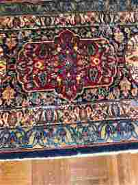 Handmade Large Sarouk area rug 16 Ft 6 In X 12 Ft 6 In