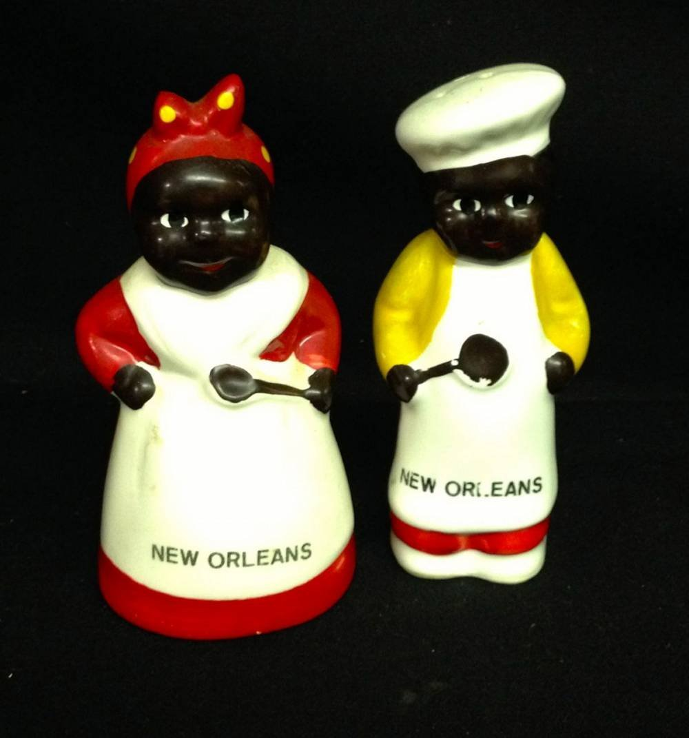 Pair Of Salt And Pepper Shakers New Orleans