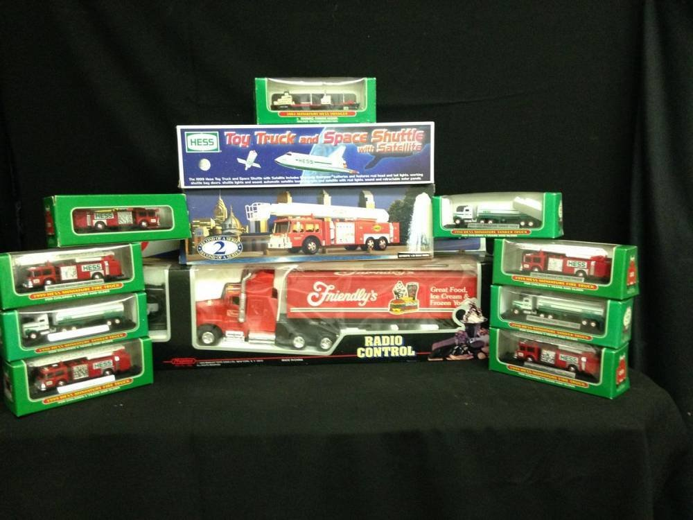 Lot Of 12 Trucks Hess And Friendlys All In Boxes