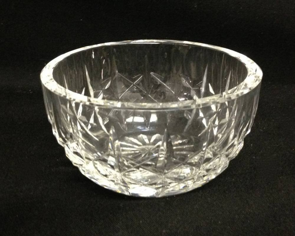 Waterford Glass Bowl Approx 4 Inches In Diameter