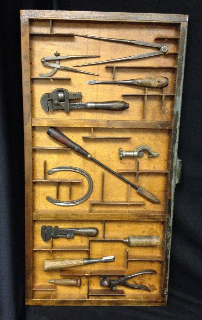 Framed Vintage Tools