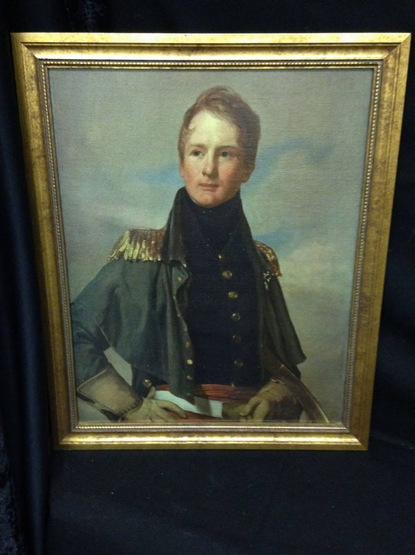 Major Thomas Biddle Reproduction Print on Canvas 35x27