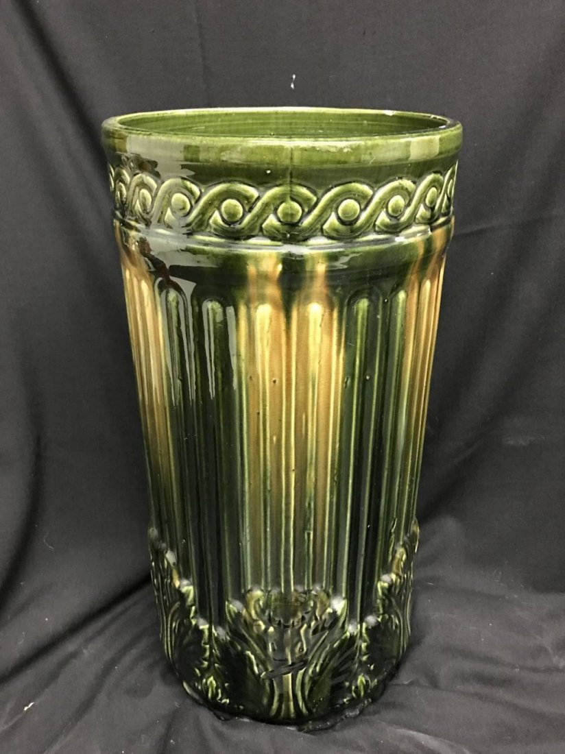 Antique American Large Umbrella Stand Approx 21.5