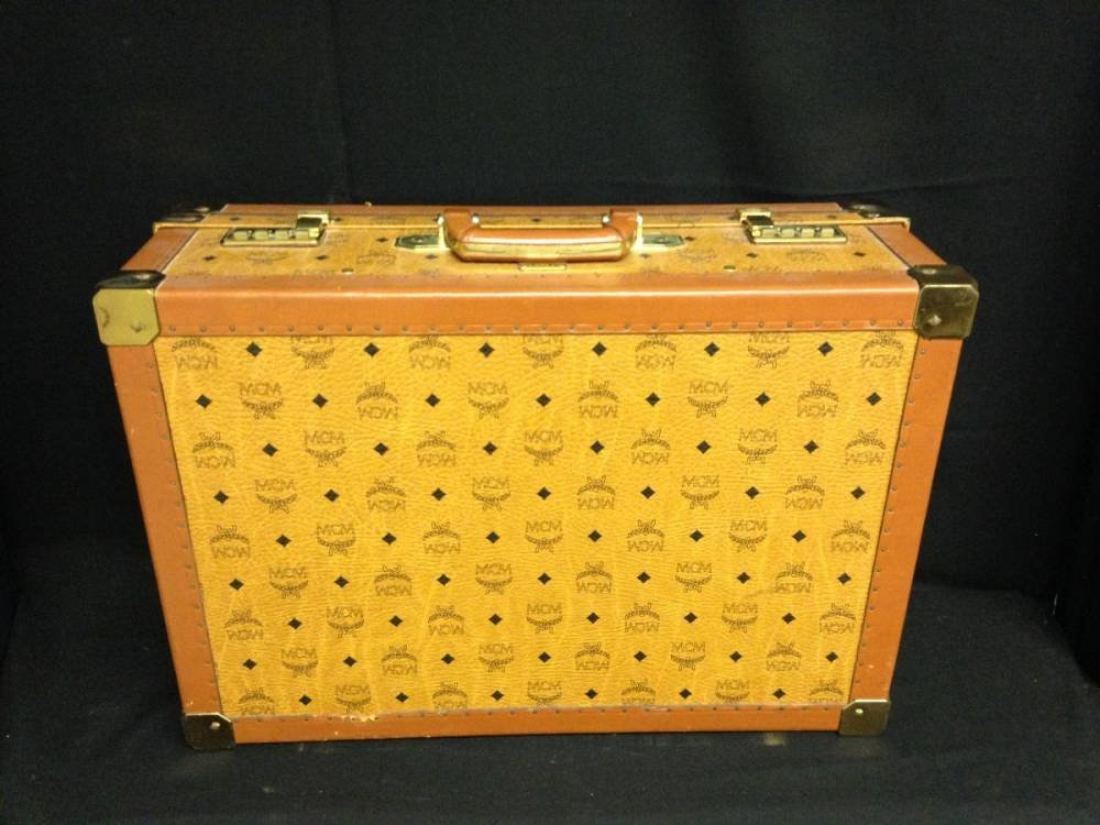 Leather MCM Luggage 17755