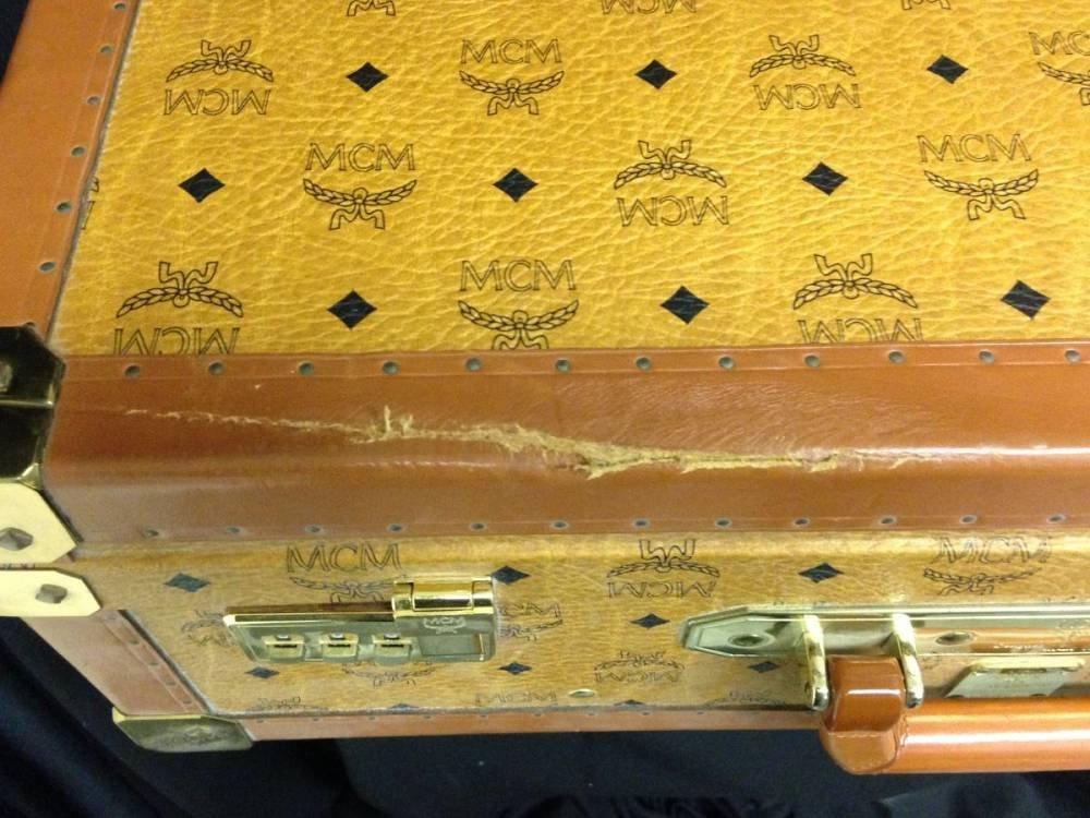 Leather MCM Luggage 17755 - 2