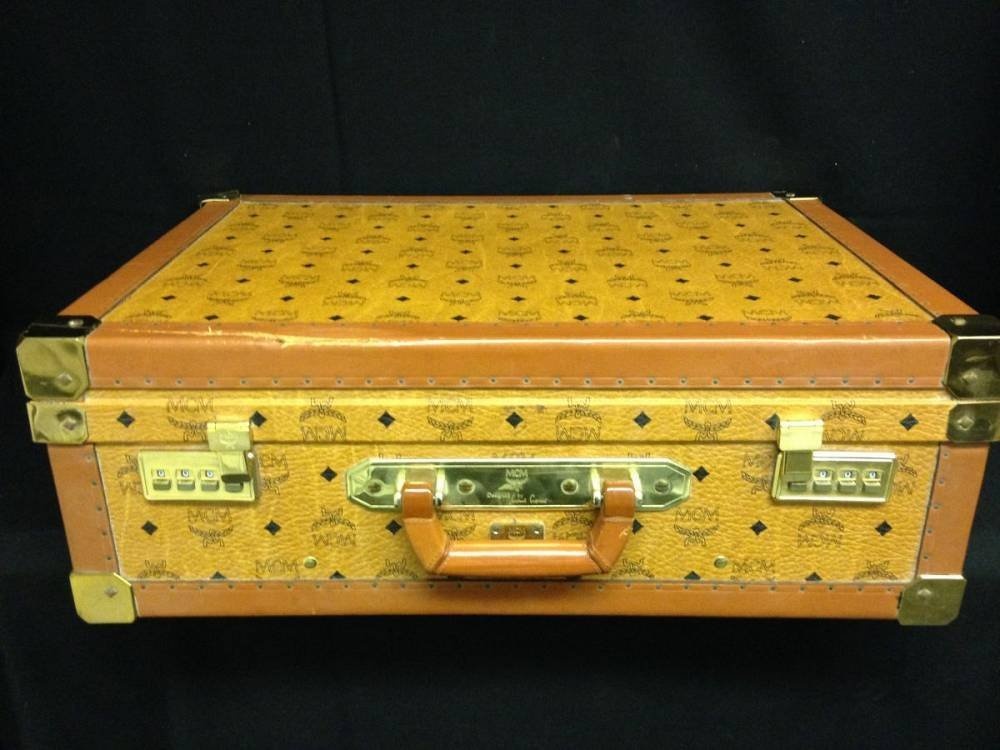 Leather MCM Luggage 17755 - 3