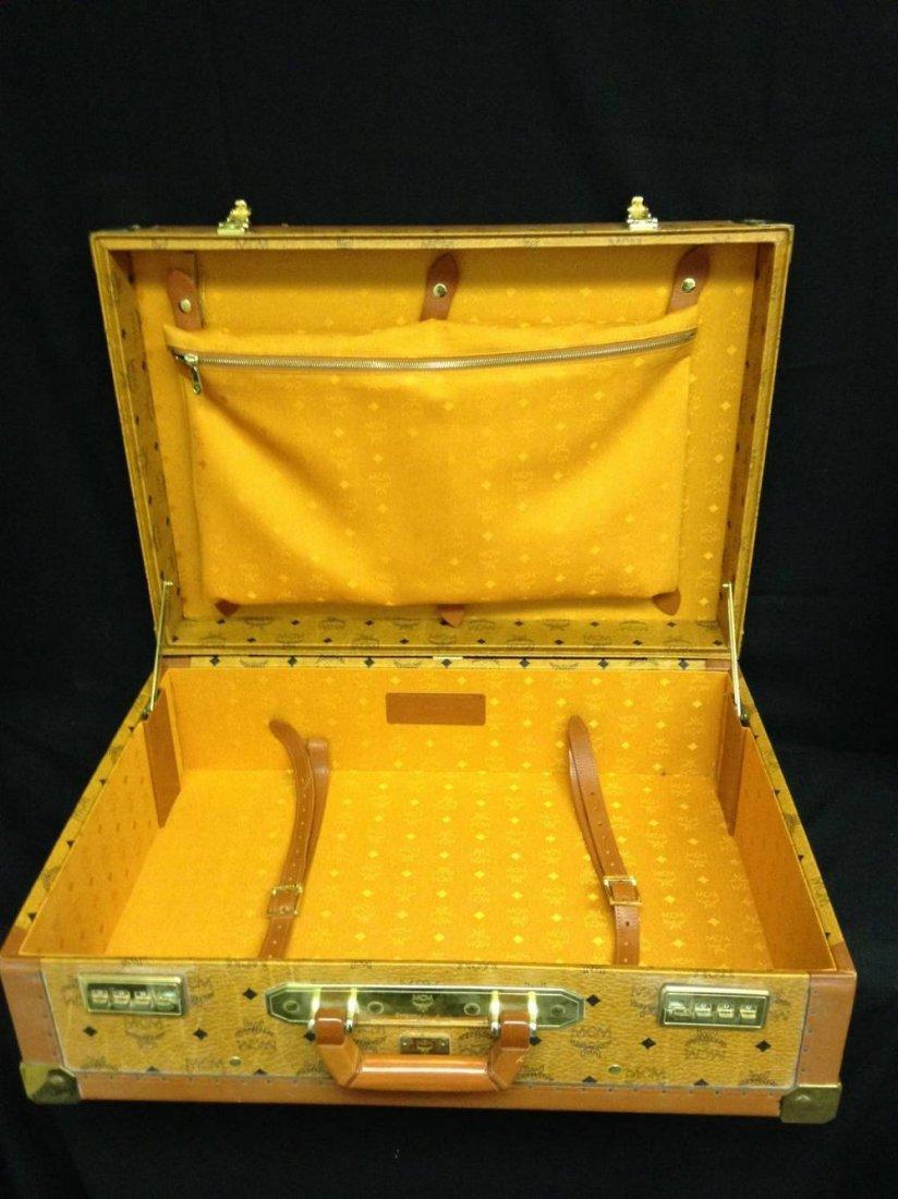 Leather MCM Luggage 17755 - 4
