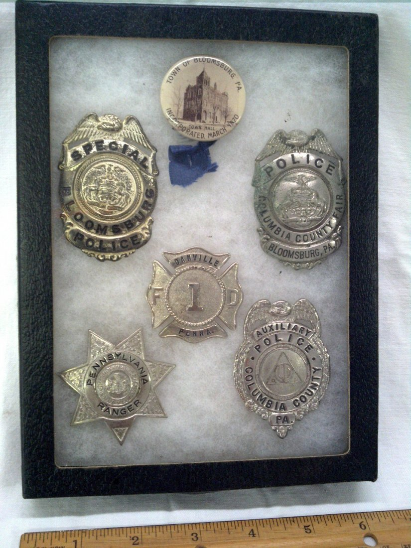Columbia County Pa badges