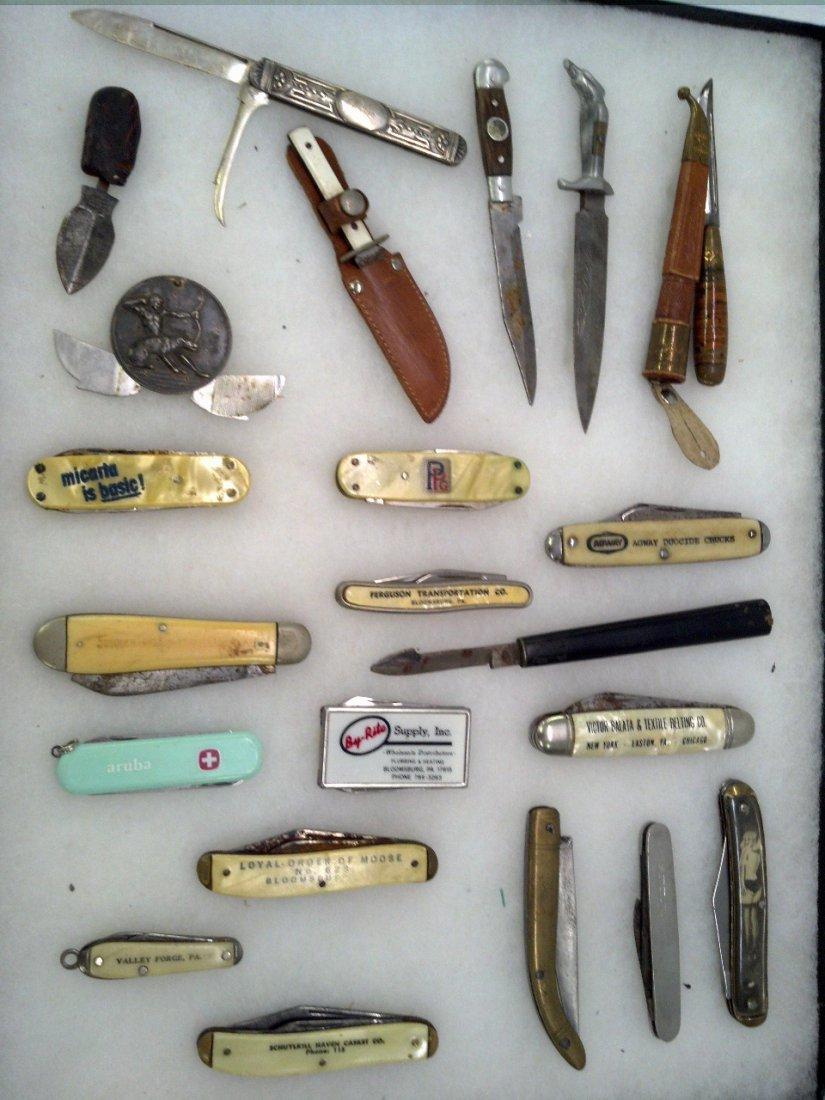 Tray lot knives