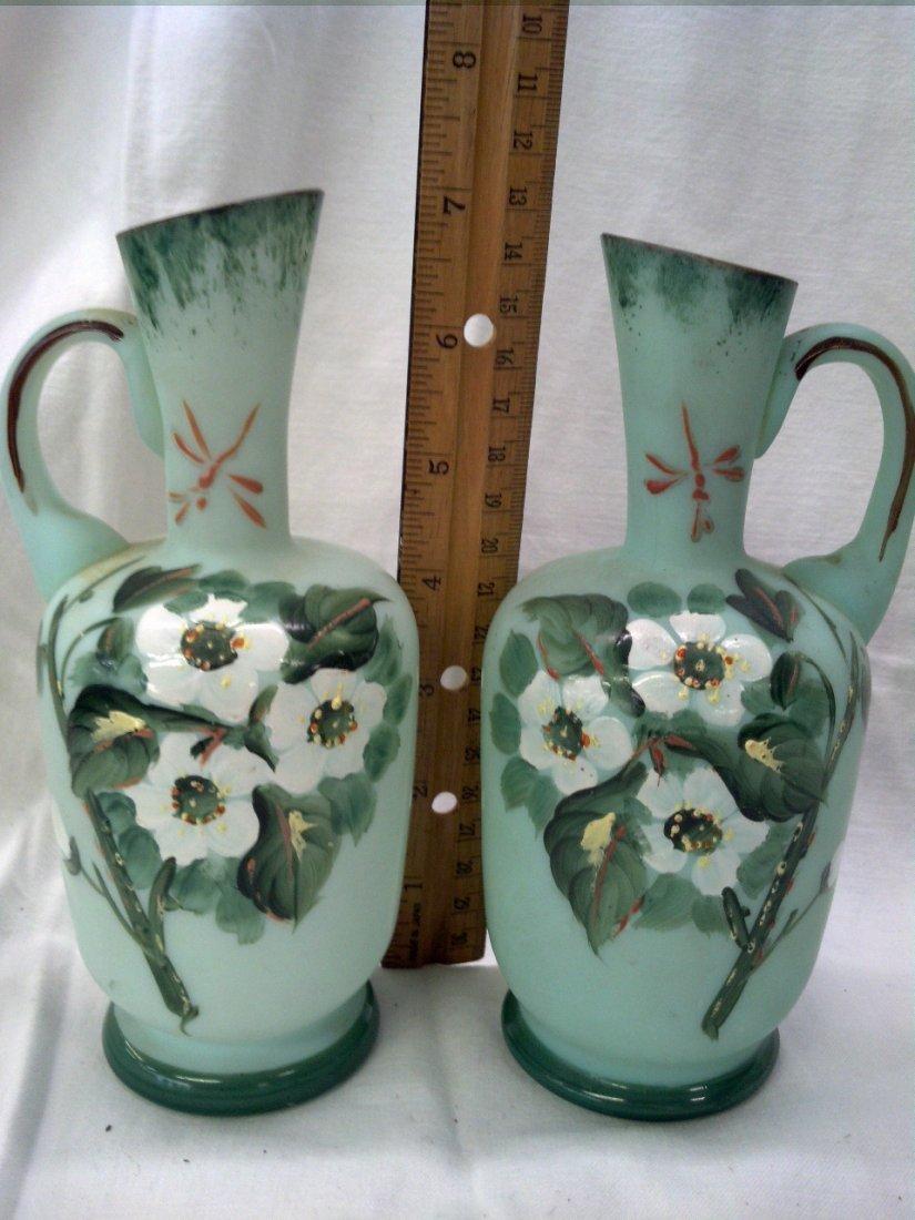 Bristol Glass small pitchers