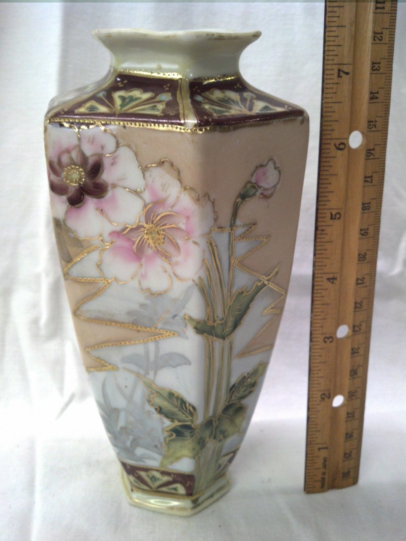 Hand painted imperial NIPPON vase