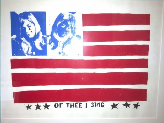 """Andy Warhol """"Of The I Sing"""""""