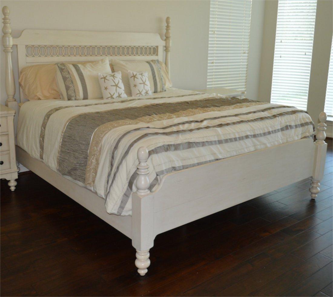 New: Howard Miller Vintage Cottage King Bed