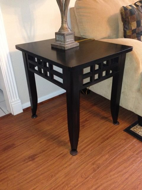 Espresso Finish End Tables QTY 2