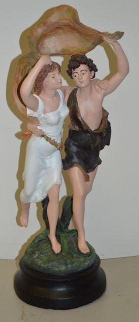 Pierre Auguste Cot: The Storm Statue - 2